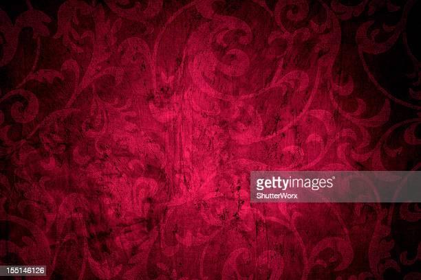 rote vintage-hintergrund - barock stock-fotos und bilder