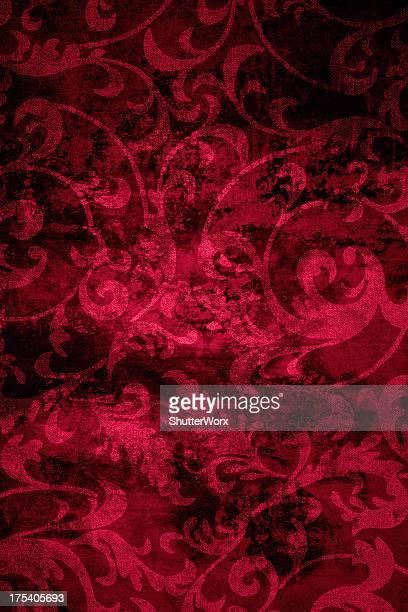 rouge fond vintage - cachemire motif photos et images de collection