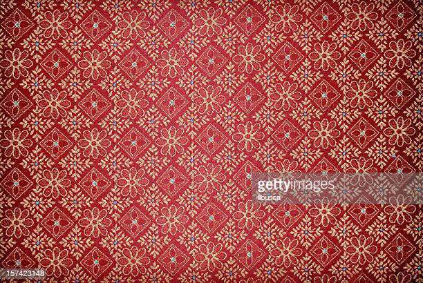 Red vintage wallpaper background texture