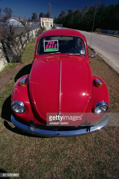Red Volkswagen Beetle For Sale