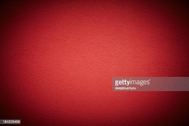 レッドの壁の背景