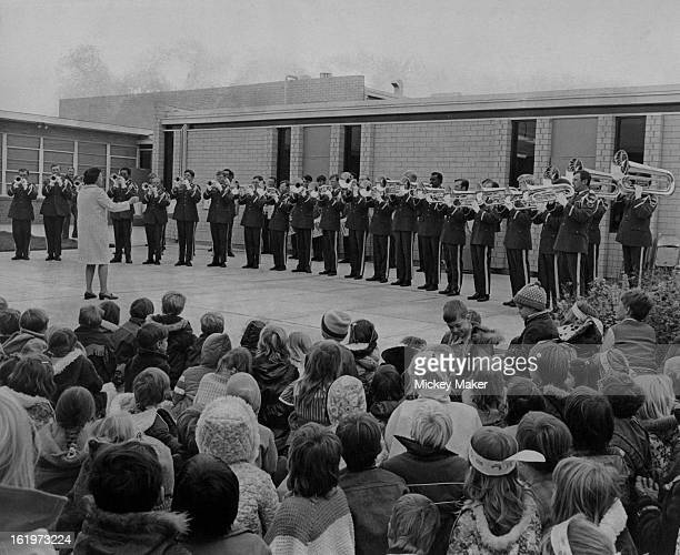OCT 31 1973 NOV 7 1973 Red White and Blue Week' at Fremont Elementary School in Arvada recently was designed to make students aware of their national...