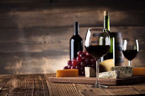 Red wine and cheese 689341058