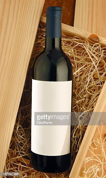Bouteille de vin rouge