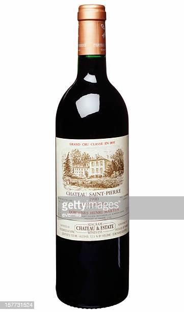 red wine Flasche