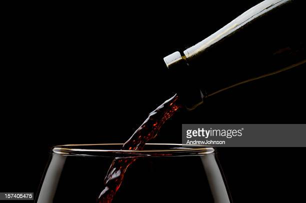 red wine - pinot noir grape stock photos and pictures