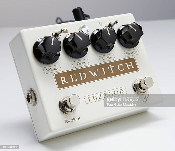 A Red Witch Fuzz God II pedal taken on March 6 2014