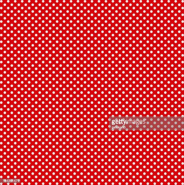Red with White Dots