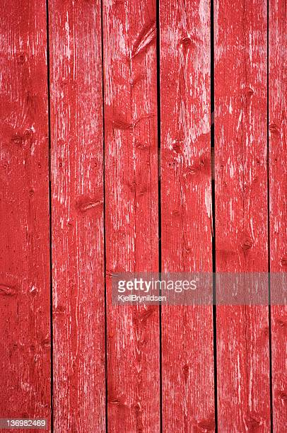Red wooden background with vertical panels
