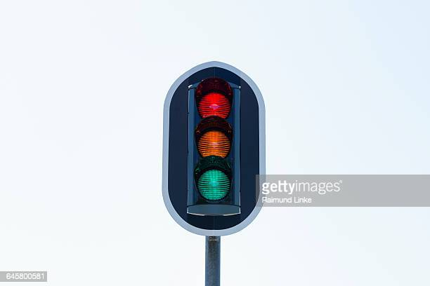 Red Yellow Green Traffic Light