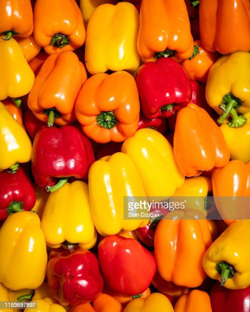 Red, Yellow, Orange Peppers