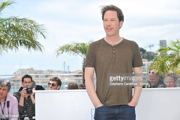 Reda Kateb at the 'Lost River' photocall during the 67th Cannes Film Festival