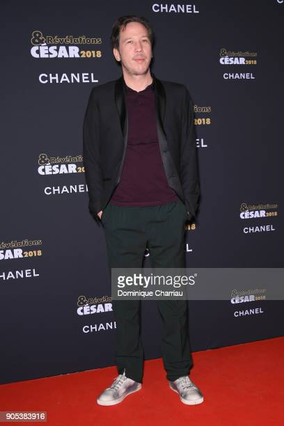 Reda Kateb attends the 'Cesar Revelations 2018' Party at Le Petit Palais on January 15 2018 in Paris France