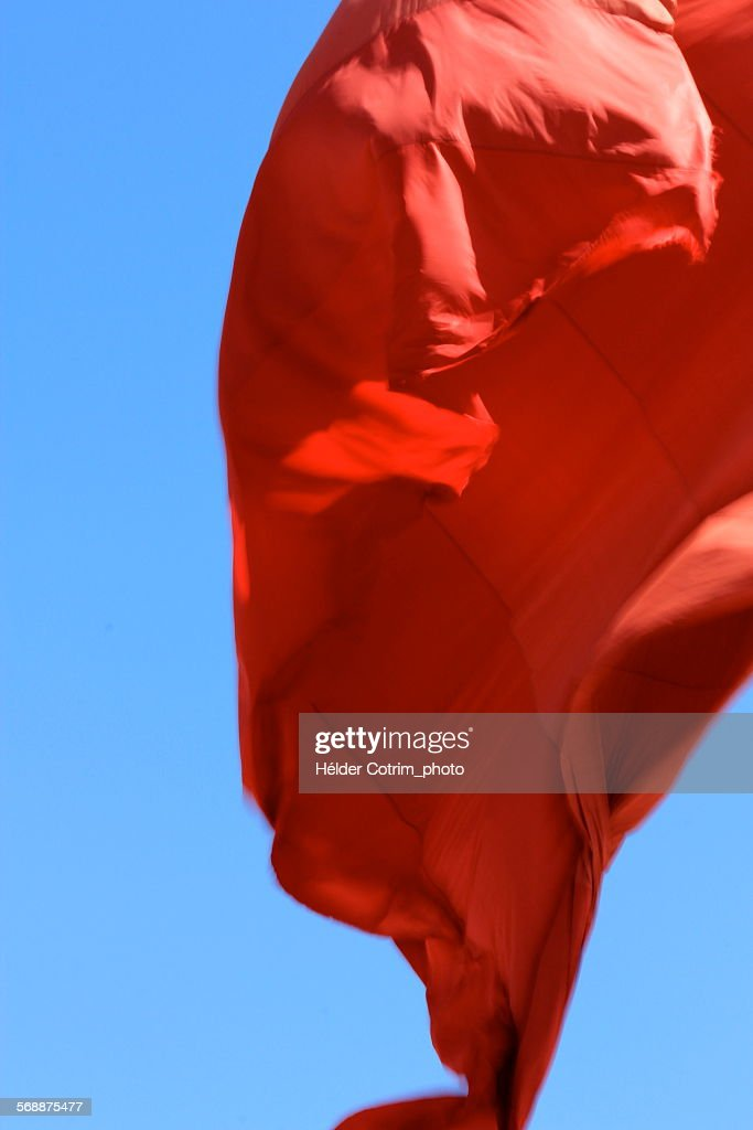 Red-blue sky : Stock Photo