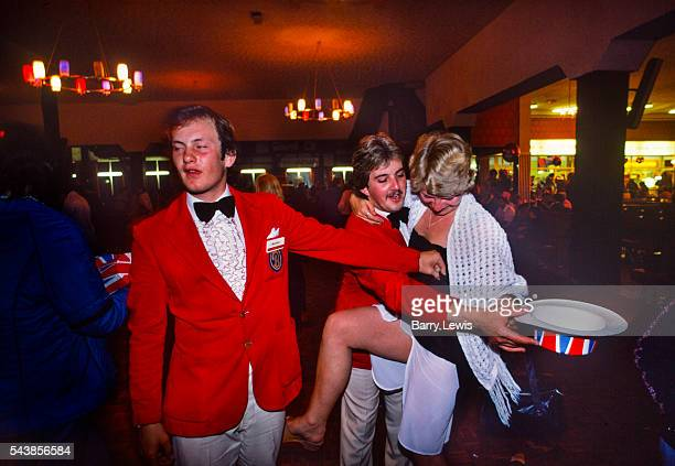 Redcoats groping a drunk camper in the Empress Ballroom Butlins Skegness The idea for the Red Coats came to Butlin early on in the Skegness Camp's...