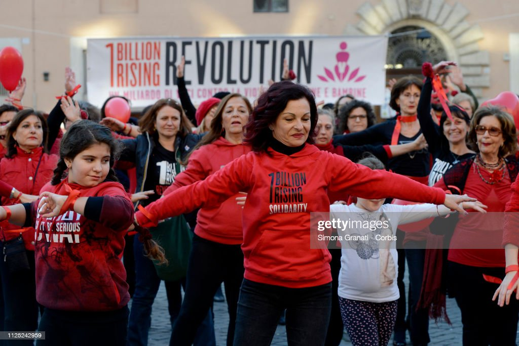 ITA: Women Dance In Support Of The One Billion Rising Movement