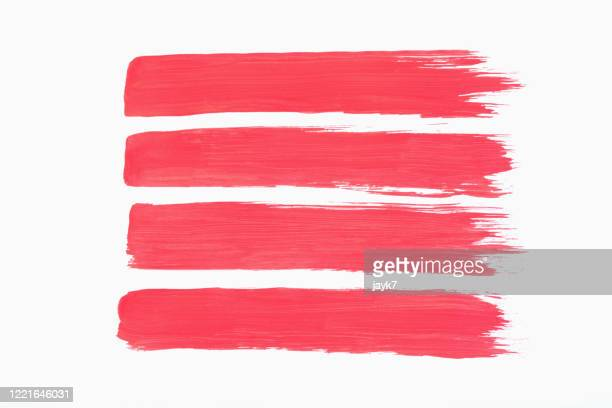 reddish pink paint strokes - dirty stock pictures, royalty-free photos & images