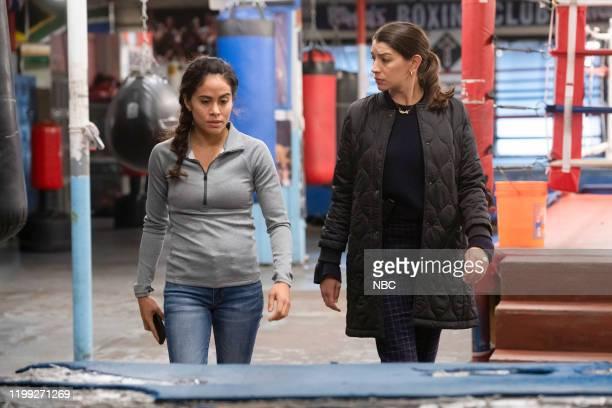 UNIT Redemption In Her Corner Episode 21013 Pictured Ashley Marie Ortiz as Val Nuñez Jamie Gray Hyder as Officer Katriona Kat Azar Tamin