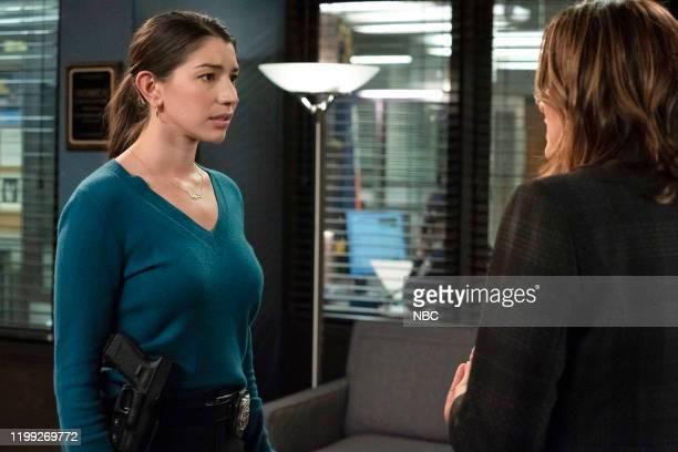 UNIT Redemption In Her Corner Episode 21013 Pictured Jamie Gray Hyder as Officer Katriona Kat Azar Tamin Mariska Hargitay as Captain Olivia Benson