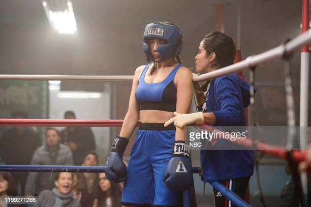 UNIT Redemption In Her Corner Episode 21013 Pictured Jamie Gray Hyder as Officer Katriona Kat Azar Tamin Ashley Marie Ortiz as Val Nuñez