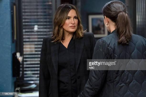 UNIT Redemption In Her Corner Episode 21013 Pictured Mariska Hargitay as Captain Olivia Benson Jamie Gray Hyder as Officer Katriona Kat Azar Tamin