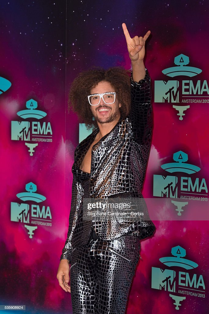 MC Redfoo attends the MTV EMA's 2013 at the Ziggo Dome in Amsterdam, Netherlands.