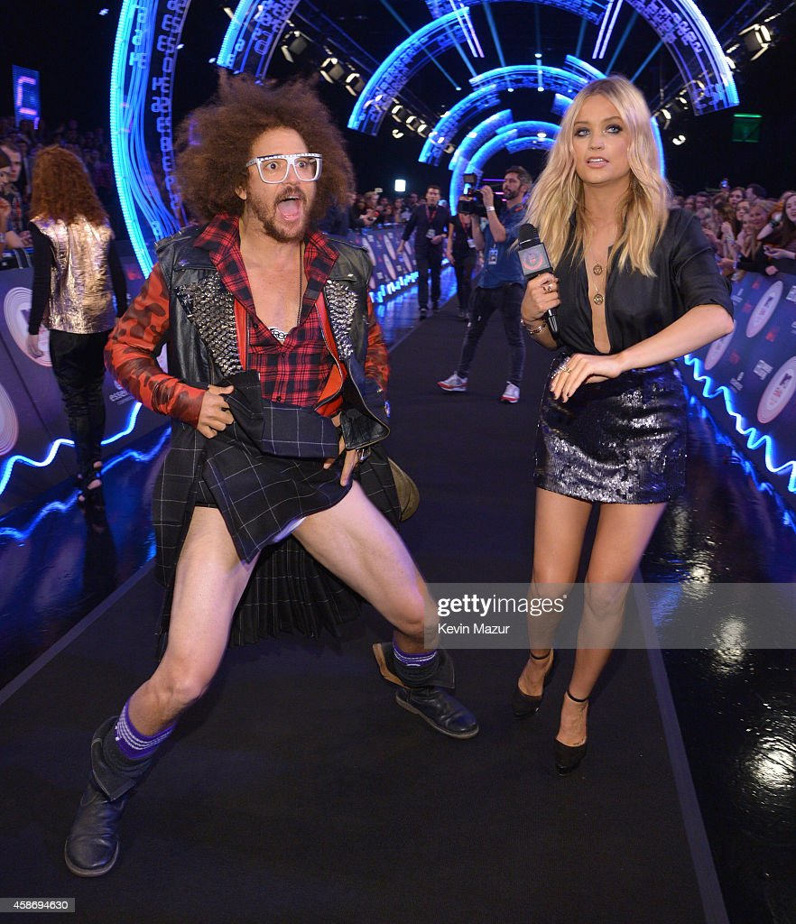 Redfoo attends the MTV EMA's 2014 at The Hydro on November 9, 2014 in Glasgow, Scotland.