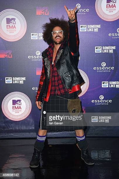 Redfoo attends the MTV EMA's 2014 at The Hydro on November 9 2014 in Glasgow Scotland
