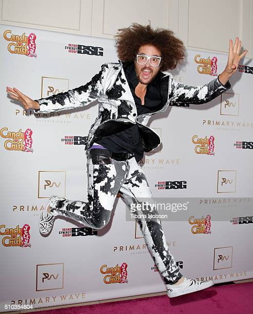 Redfoo attends the Primary Wave 10th Annual PreGrammy Party at The London West Hollywood on February 14 2016 in West Hollywood California