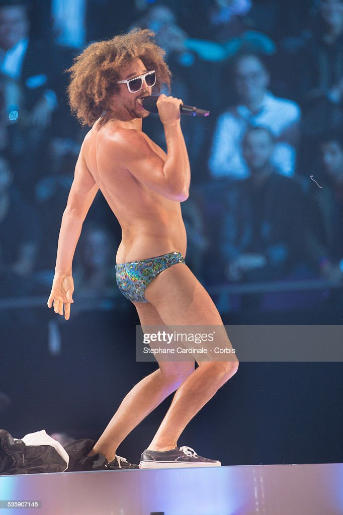 Redfoo performs onstage during the MTV EMA's 2013 at the Ziggo Dome in Amsterdam, Netherlands.