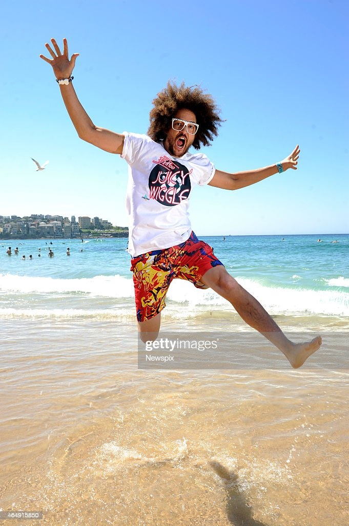 Redfoo Portrait Shoot At Bondi Beach