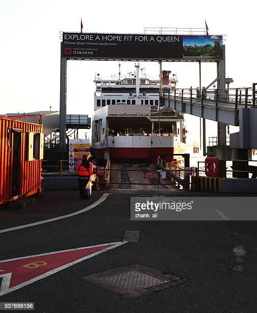 Redfunel a Porto di Southampton ferry