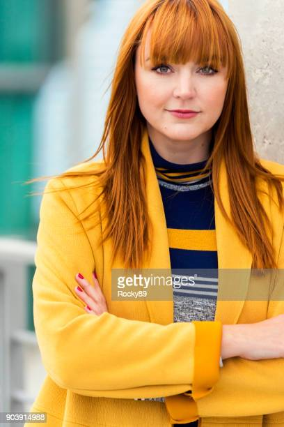 Red-haired Woman, Portraits in Berlin, Germany