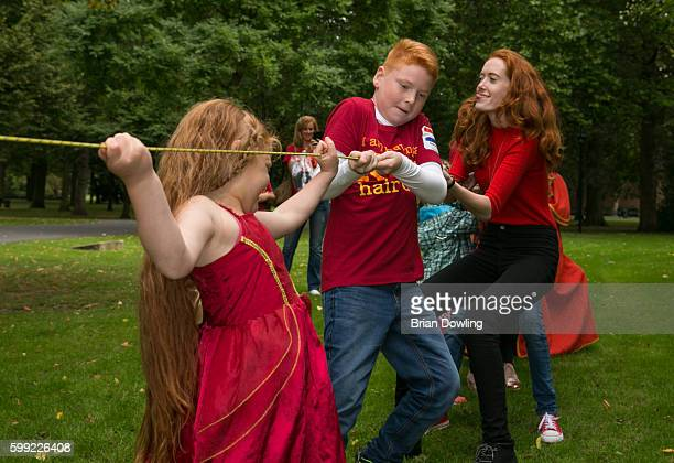 Redheads gather for Redhead Days on September 4 2016 in Breda Netherlands The 11th annual festival welcomes over 1800 redheaded guests their family...