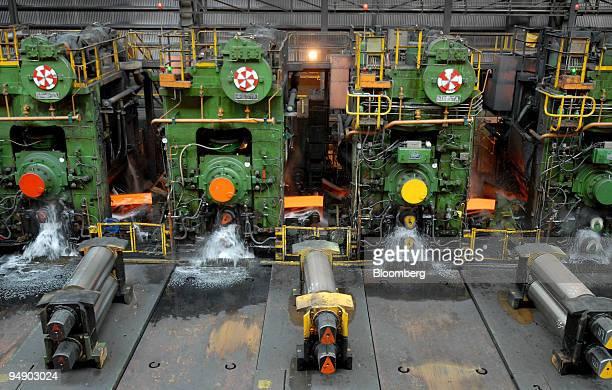 hot strip mill process pdf