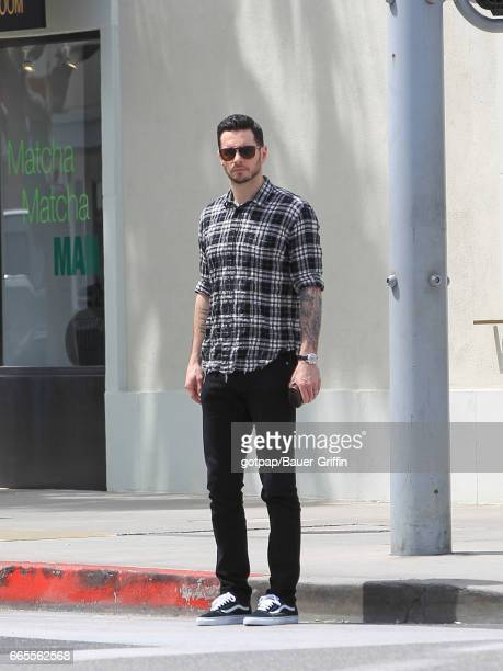 J J Redick is seen on April 06 2017 in Los Angeles California