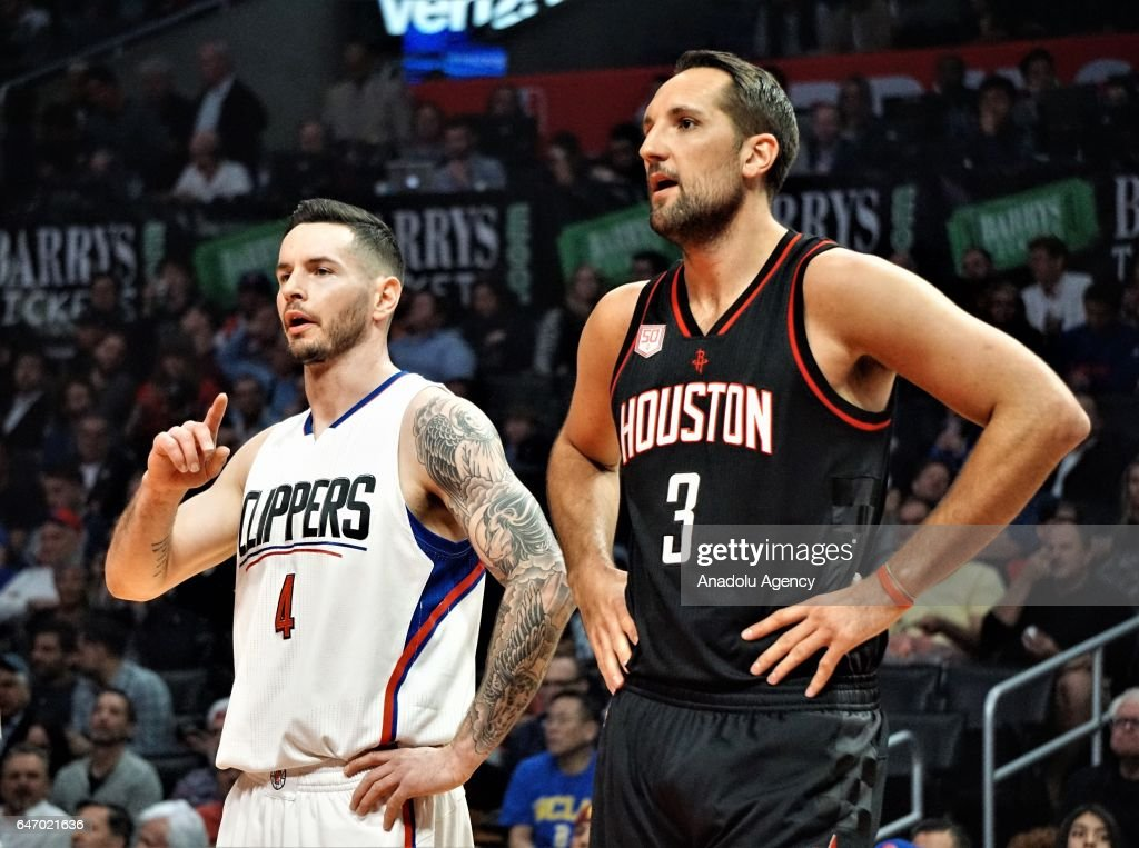 NBA - Los Angeles Clippers vs Houston Rockets : News Photo