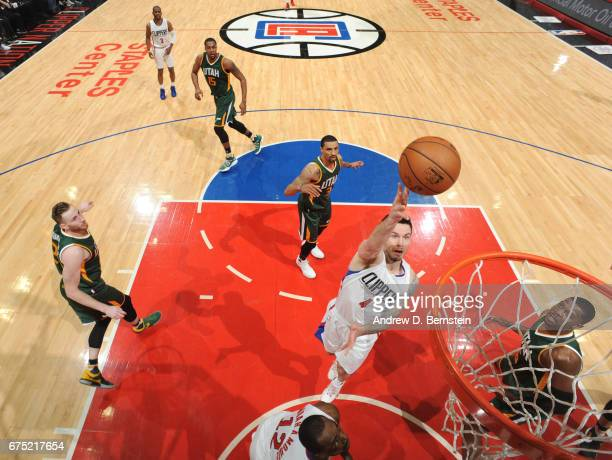 Redick of the LA Clippers shoots the ball against the Utah Jazz during Game Seven of the Western Conference Quarterfinals of the 2017 NBA Playoffs on...