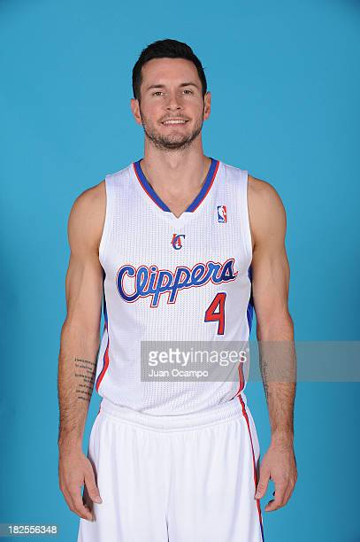 J Redick of the Los Angeles Clippers poses for a picture during media day at the Clippers Training Center on September 30 2013 in Playa Vista...