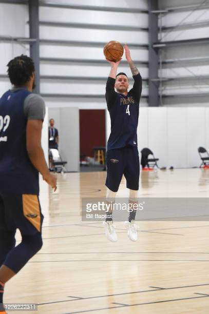 J Redick of the New Orleans Pelicans during practice as part of the NBA Restart 2020 on July 10 2020 in Orlando Florida NOTE TO USER User expressly...