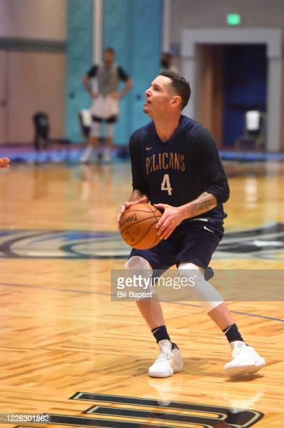 J Redick of the New Orleans Pelicans during practice at the hotel as part of the NBA Restart 2020 on July 11 2020 in Orlando Florida NOTE TO USER...