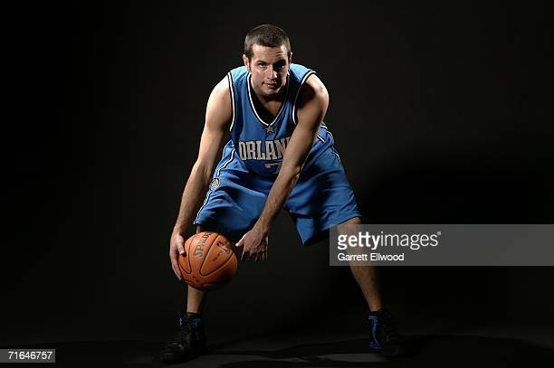 Redick of the Orlando Magic poses for a photo during the 2006 NBA Rookie Photo Shoot on August 14, 2006 at the MSG Training Facility in Tarrytown,...