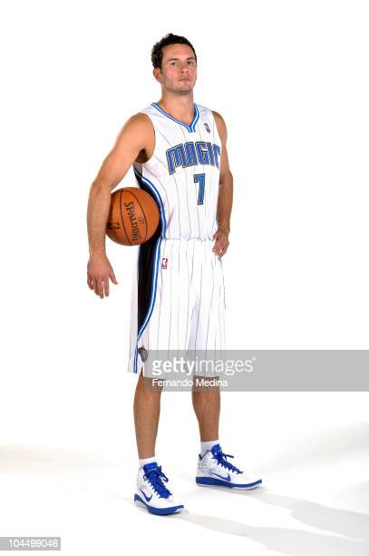 Redick of the Orlando Magic poses for a portrait during NBA Media Day on September 27 2010 at Amway Center in Orlando Florida NOTE TO USER User...