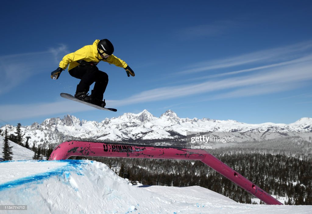 CA: 2019 U.S. Grand Prix at Mammoth Mountain - Snowboard Slope Style Finals