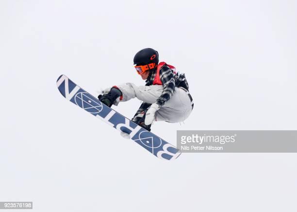 Redmond Gerard of USA during the Snowboard Mens Big Air Finals at Alpensia Ski Jumping Centre on February 24 2018 in Pyeongchanggun South Korea