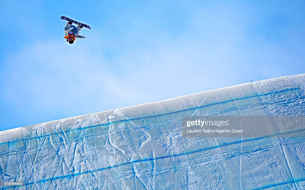 Redmond Gerard wins the gold medal during the Snowboarding Men's Slopestyle Finals at Pheonix Snow Park on February 11, 2018 in Pyeongchang-gun, South Korea.