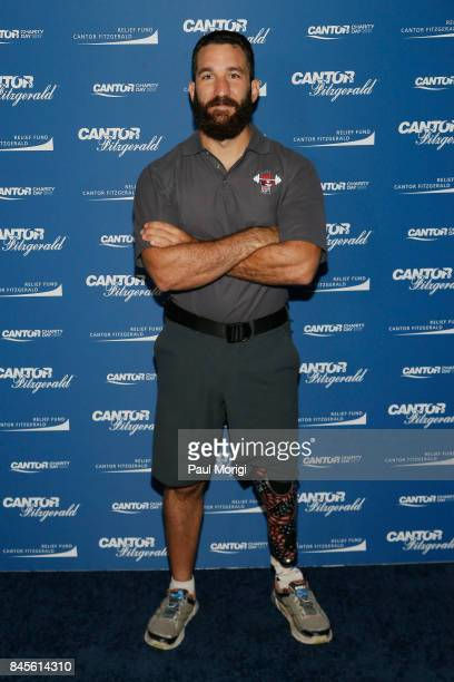 Redmond Ramos participates in Annual Charity Day hosted by Cantor Fitzgerald BGC and GFI at Cantor Fitzgerald on September 11 2017 in New York City