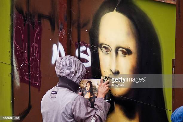 Redrawing Mona Lisa