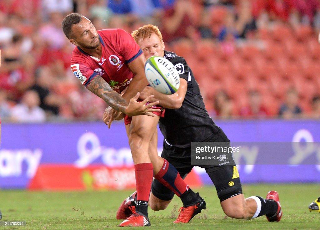 Super Rugby Rd 1 - Reds v Sharks