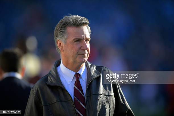 Redskins tam president Bruce Allen before a game between the Washington redskins and the Tennessee Titians in Nashville TN on December 22 2018
